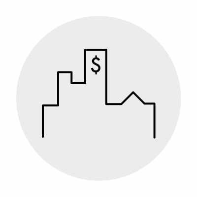Investment Real Estate Icon
