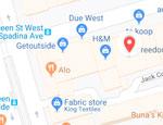 PMT location map
